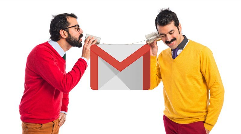 notas de audio Gmail