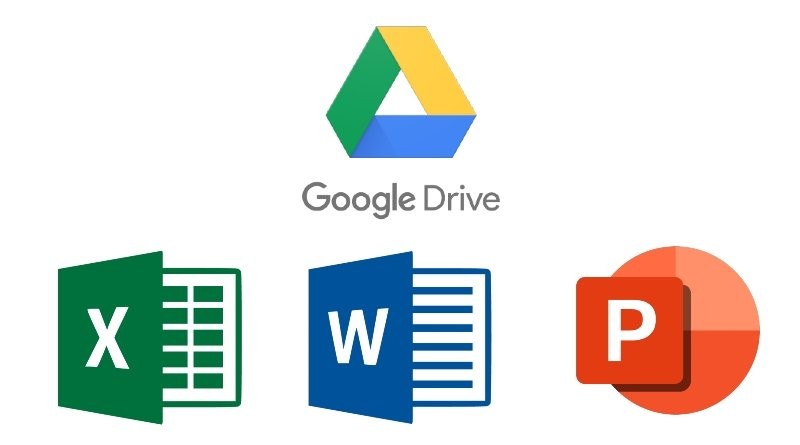 Google Drive Editar archivos Office