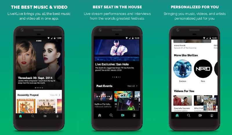 Live x Live app descubrir música