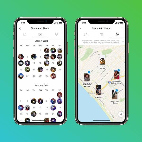 Stories Instagram Map