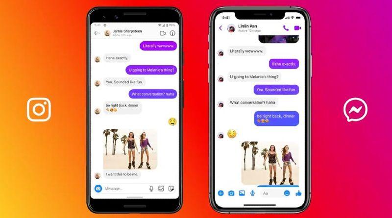 Instagram Messenger mensajes