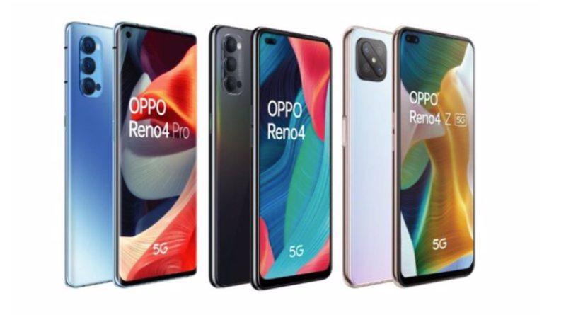 Teléfonos Oppo Reno 4