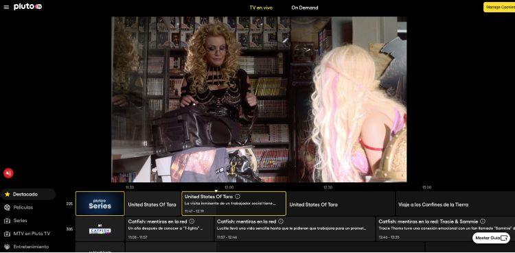 Emisión PlutoTV
