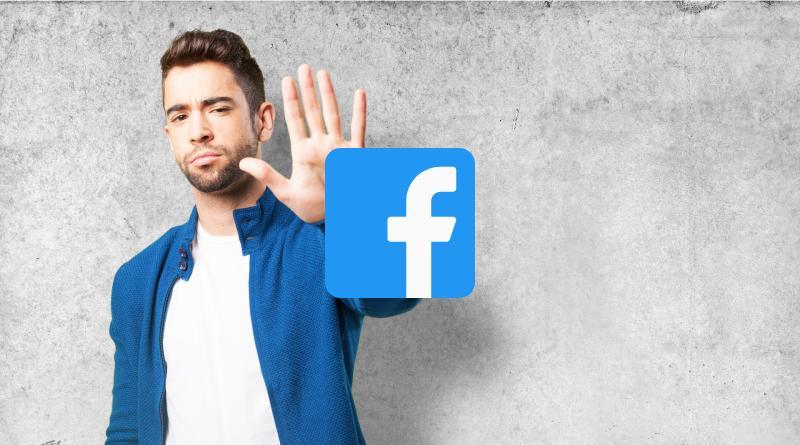 Rechazar amistad Facebook
