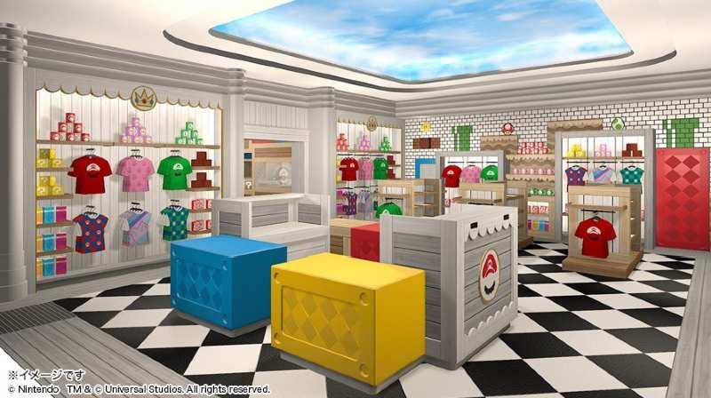 Tienda souvenirs Mario Bros