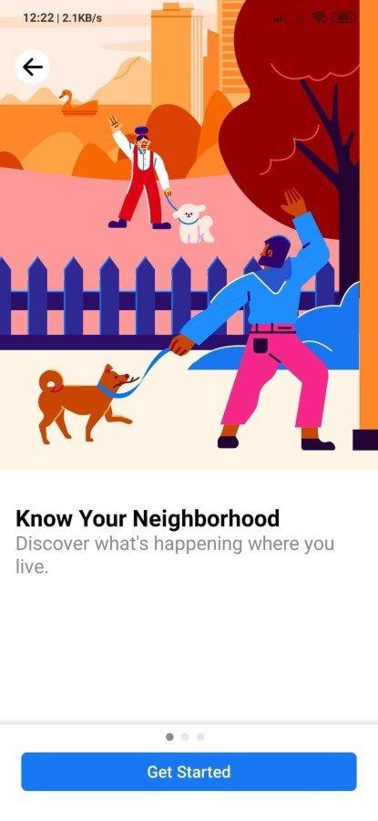 Sugerencia de vecinos