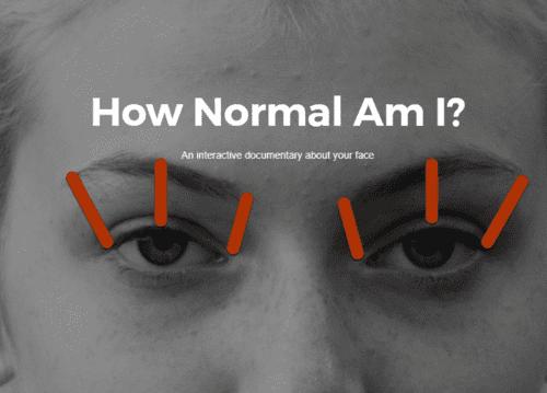 How Normal Am I comprueba cómo funcionan los algoritmos de reconocimiento facial