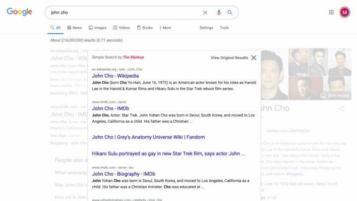 Google búsqueda sencilla
