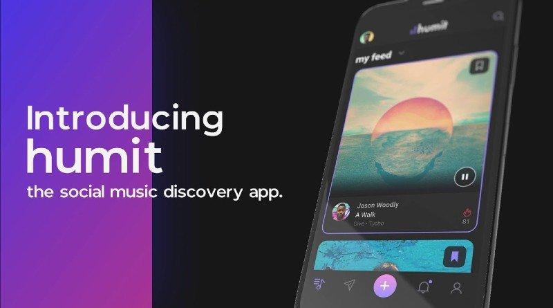Humit App para compartir extractos de música