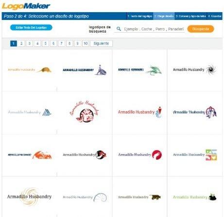 LogoMaker para crear logotipos de forma gratuita