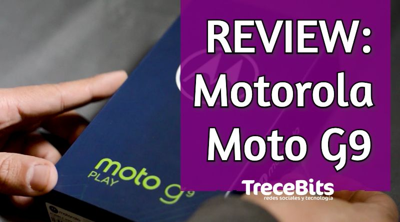 Review del móvil Motorola Moto G9