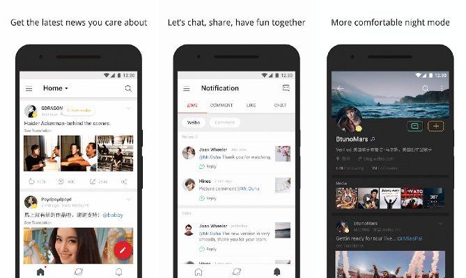 Weibo Twitter app red social