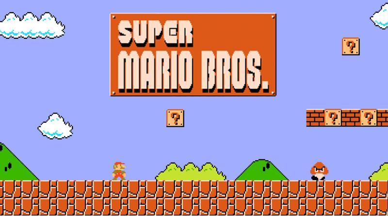 Nintendo Mario Bros consola