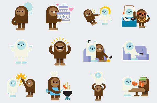 Yeti Stickers WhatsApp