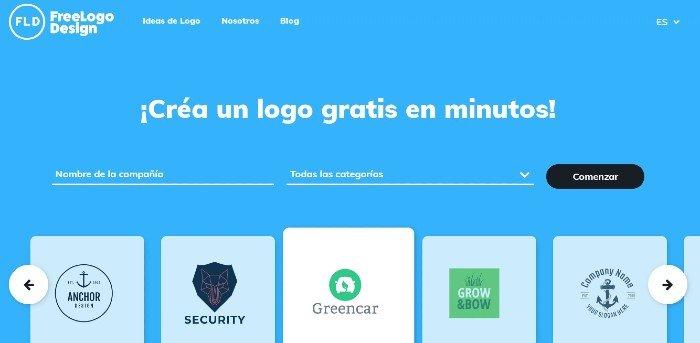 Freelogodesign para crear logotipos gratuitos