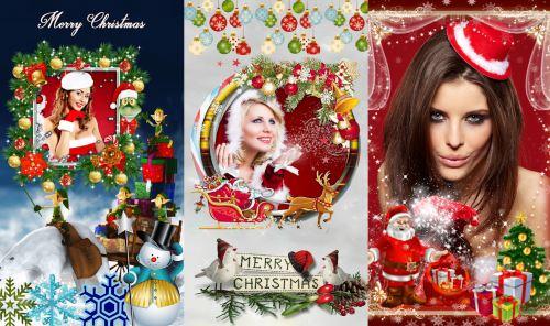 Crear tarjetas de navidad