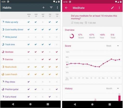 Loop Habit Tracker para conseguir objetivos