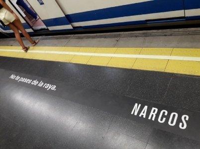 Narco Marketing series películas drogas promover