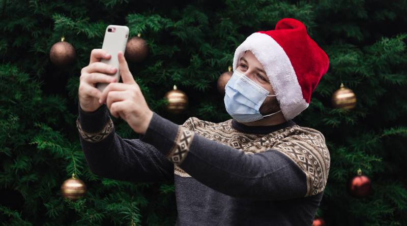 Fondos navideños para videollamadas