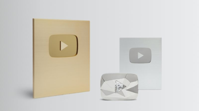 Placa YouTube suscriptores