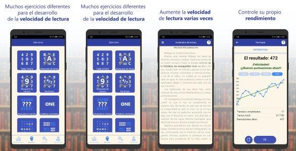 Lectura rápida apps aprender a leer rápido