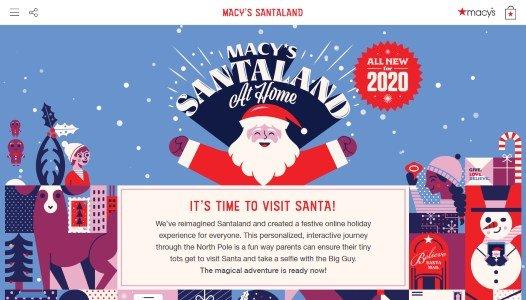 Macy's Navidad Santa Calus