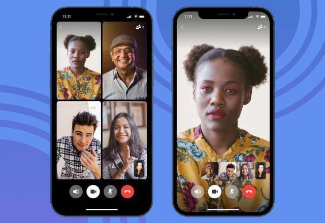 App Signal videollamada grupal