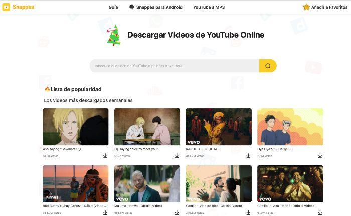 Cómo Descargar Vídeos De Youtube En Mp3 O Mp4 Fácilmente Con Snappea