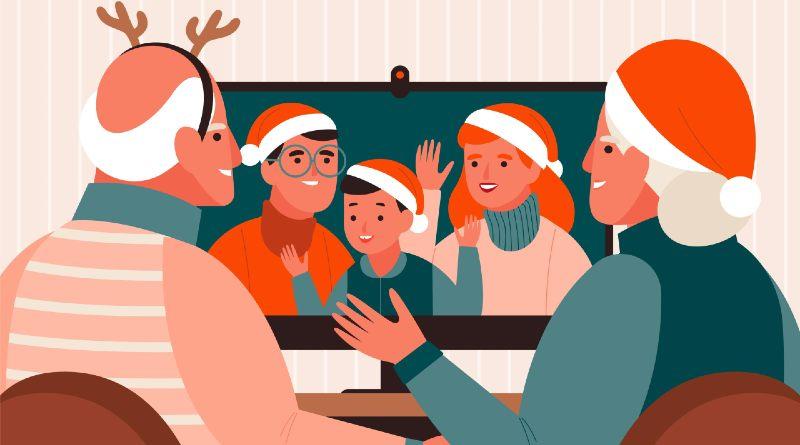 Fondos videollamada Navidad