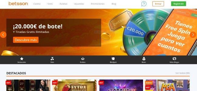 Casino online Betsson.