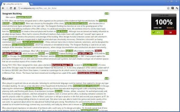 Check My Links extensión para mejorar el SEO