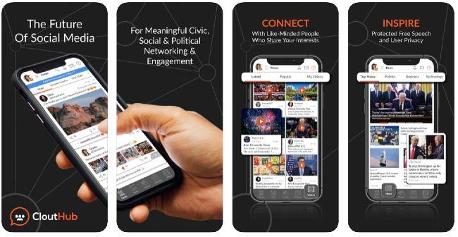 Clouthub app social