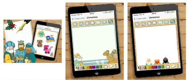 Crea tu carta para los reyes magos iOS y Android