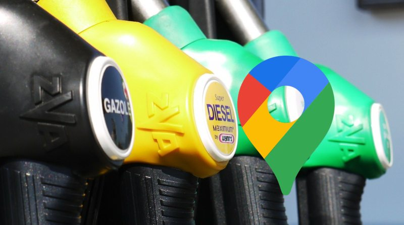 Gasolineras en Google Maps