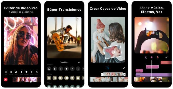 Aplicación video Inshot