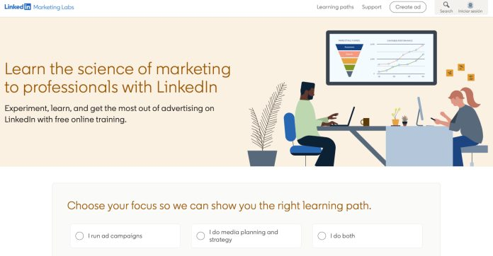 LinkedIn escuela de marketing