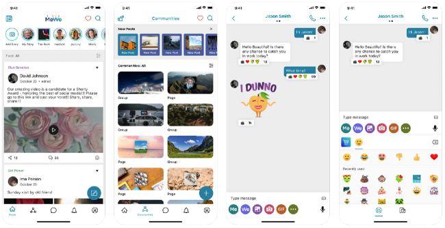 MeWe app social