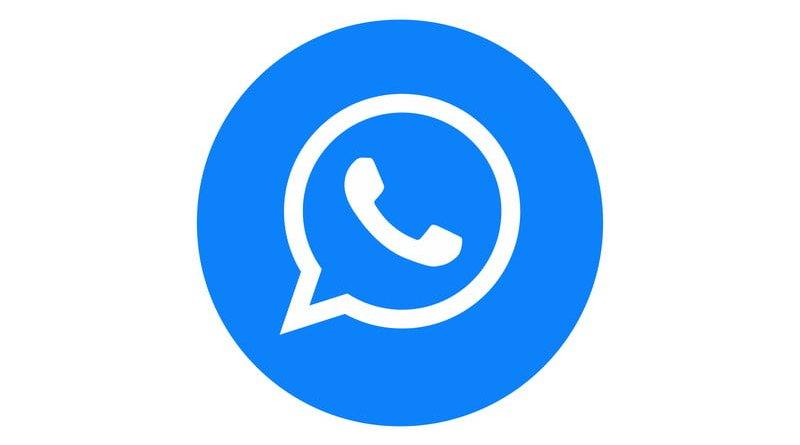 Logo WhatsApp Azul