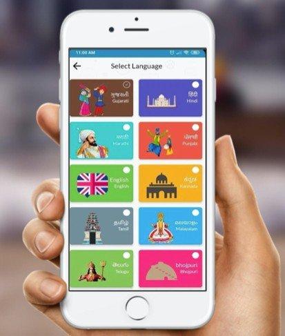 Sharechat app en la India