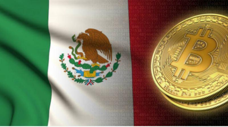 Moneda de bitcoin en México