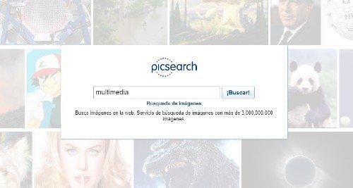Motor de búsqueda de imágenes Picsearch