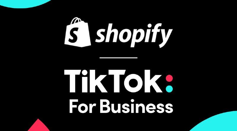 TikTok y Shopify acuerdo