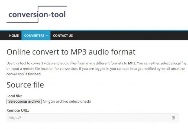 Conersion-Tool aplicacion para descargar vídeos