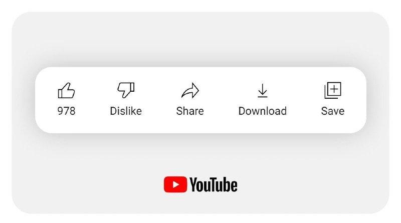 Botón No Me Gusta YouTube