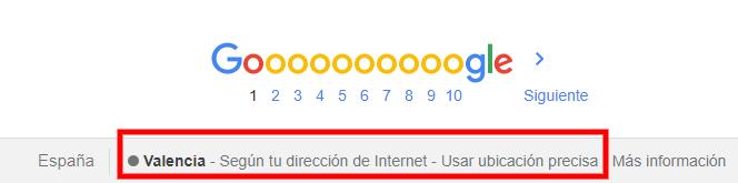 Localización de Google