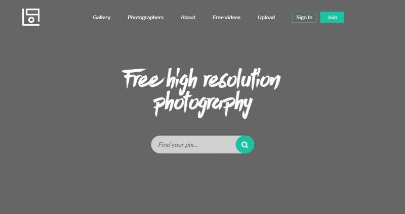 Life Of Pix banco de imágenes minimalista