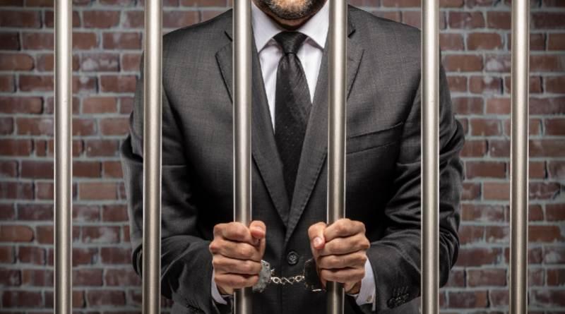 Cárcel hombre de negocios