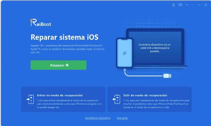 ReiBoot manzana iPhone