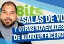 Salas de audiochat y otras novedades que llegan a Facebook [Vídeo]