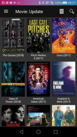 Aplicaciones para ver películas gratis, MoviesHD
